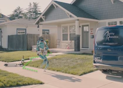 Digit el robot repartidor de Ford y Agility Robotics