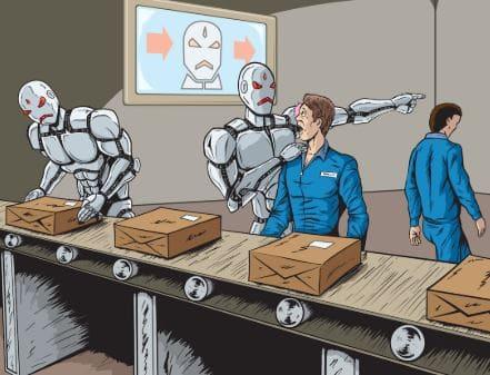 Los robots sustituyen el trabajo de 400.000 personas